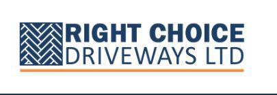 Right Choice Driveways Ltd logo