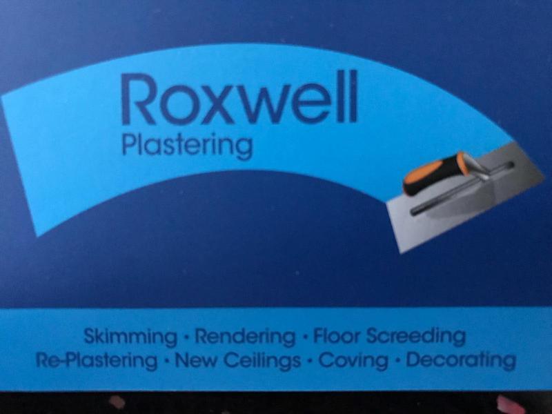 Roxwell Plastering logo
