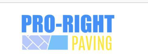 Pro-right Paving logo