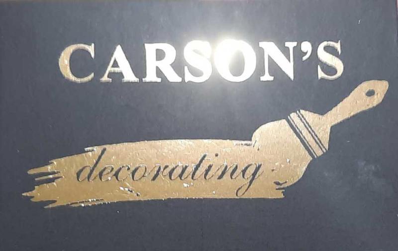 Carson's Decorating logo