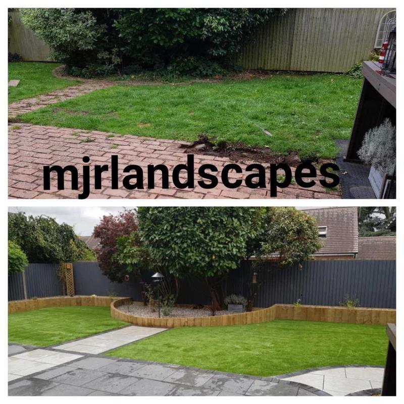 MJR Landscapes logo