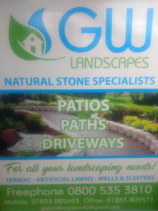 GW Landscapes logo