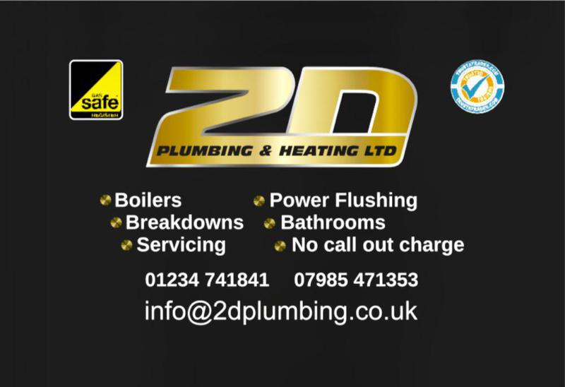 2D Plumbing & Heating Ltd logo