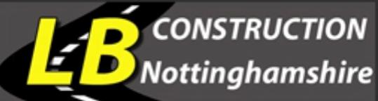 LB Construction Nottinghamshire logo