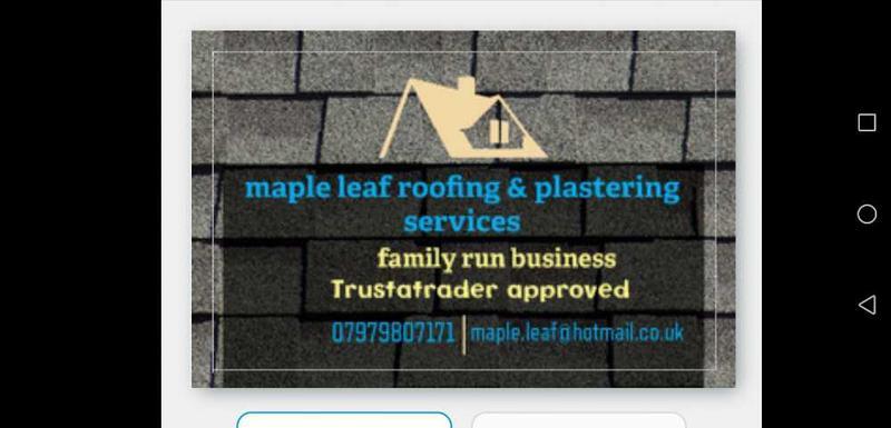 Mapleleaf Roofing & Plastering Services logo