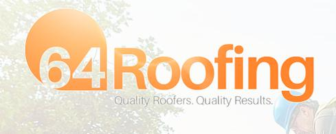 64 Roofing-Flat Roofs, Pitched Roofs and Guttering logo