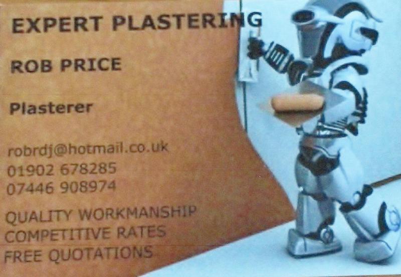 Expert Plastering logo