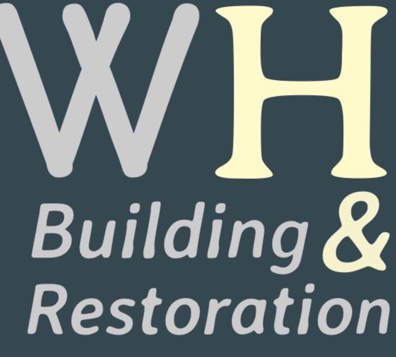 WH Building & Restoration logo