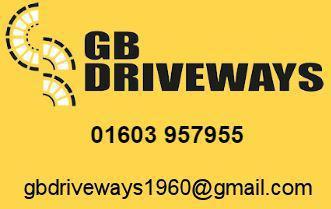 GB Driveways logo