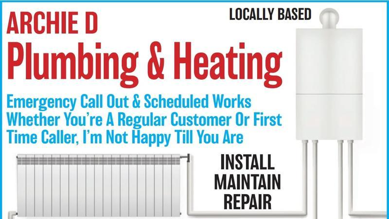 Archie D Plumbing & Heating logo