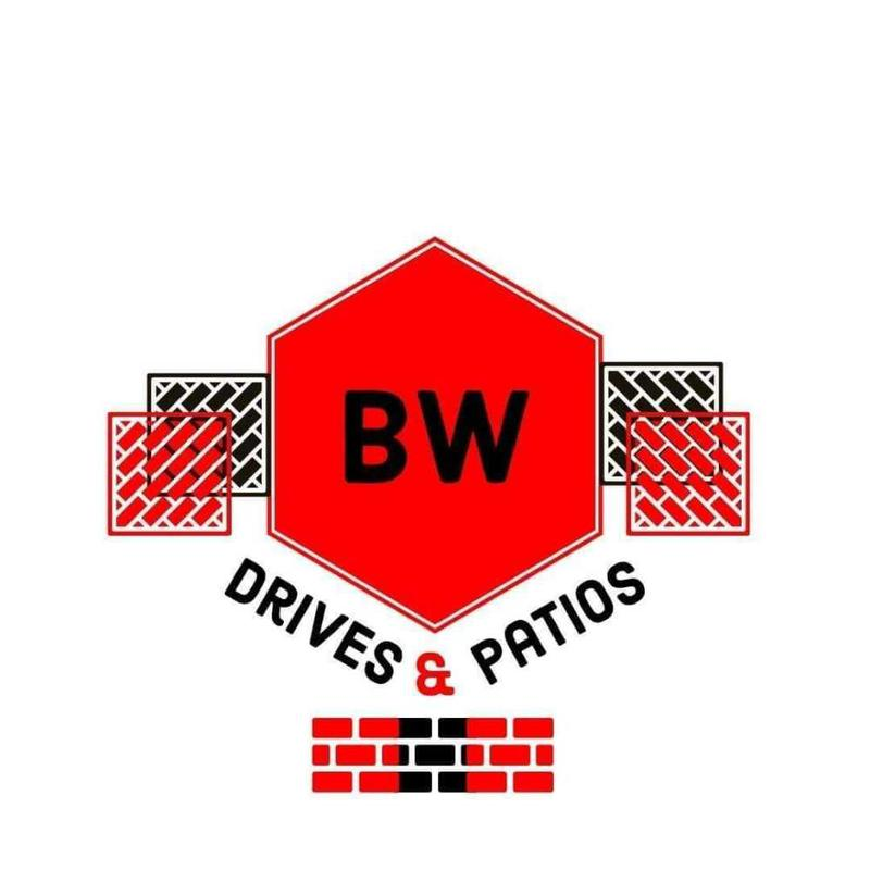 BW Drives and Patios logo
