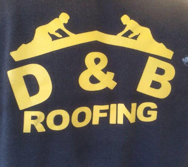 D&B Roofing logo