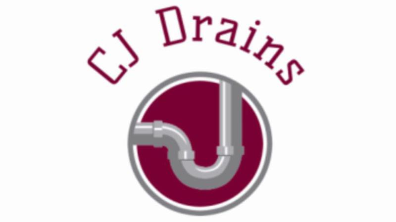CJ Drains logo