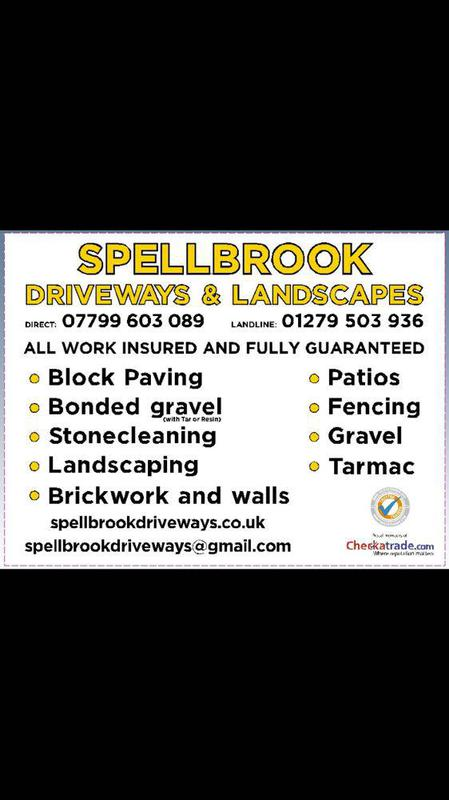 Spellbrook Driveways & Landscapes logo