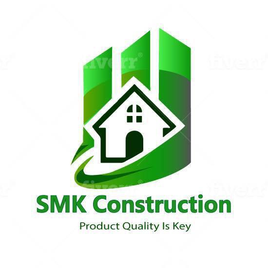 SMK Construction logo