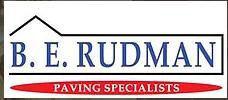BE Rudman Paving & Landscapes logo
