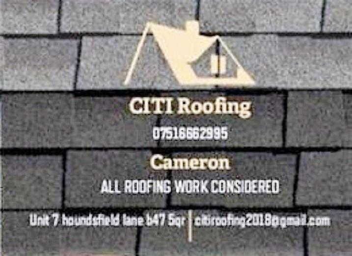 Citi Roofing logo