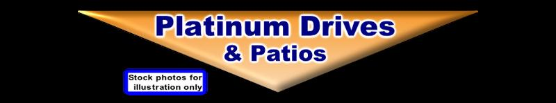 Platinum Drives & Patios logo
