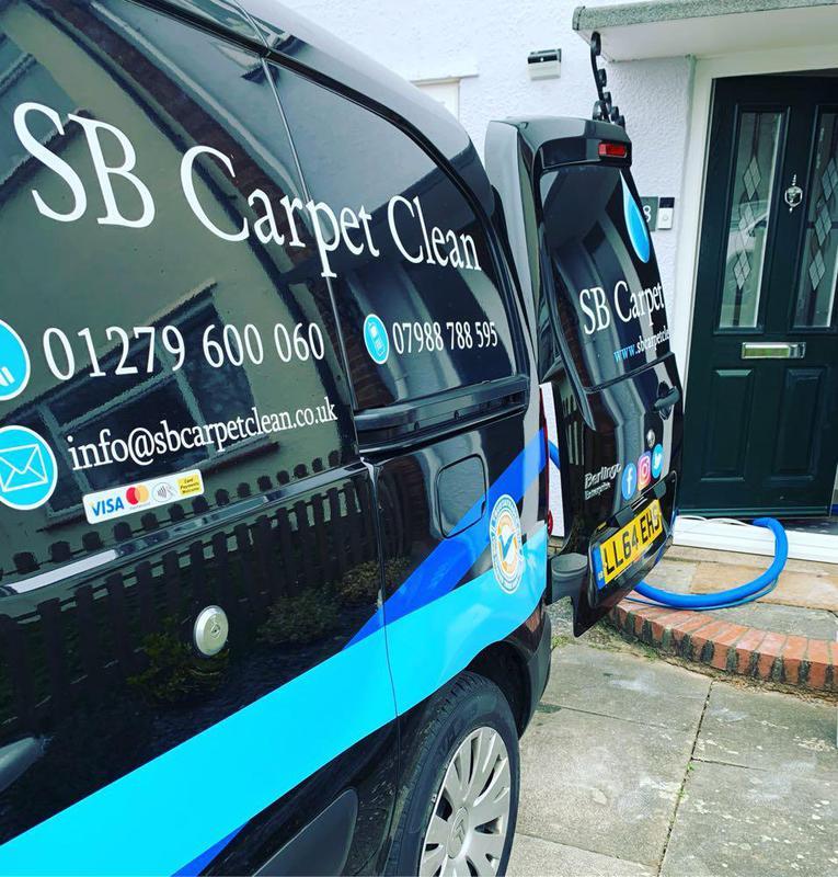SB Carpet Clean logo