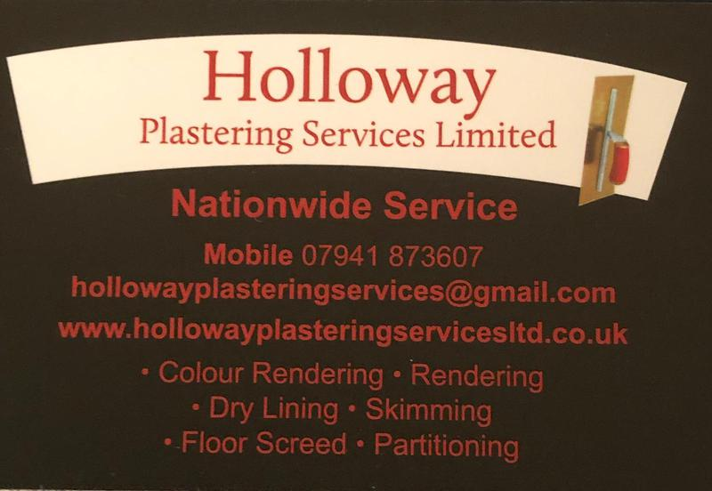 Holloway Plastering Services Ltd logo