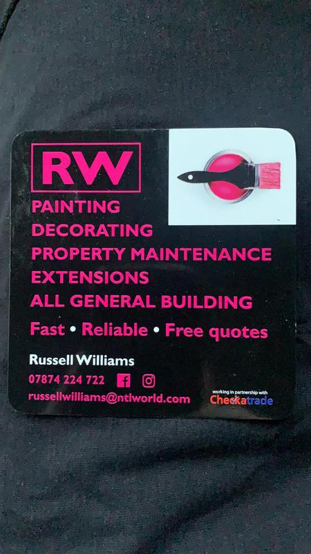 RW Painting, Decorators & Property Maintenance logo