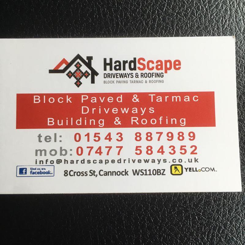 Hardscape Driveways logo