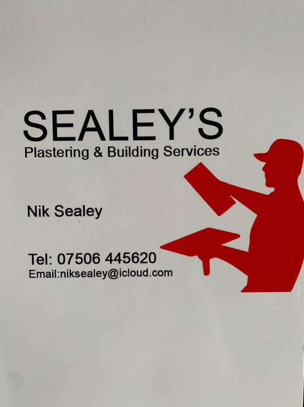 Sealey's Plastering & Rendering Services logo