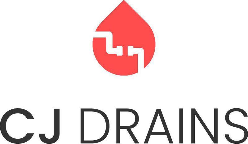 CJ Drains logo