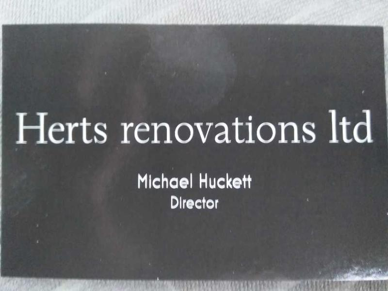 Herts Renovations logo