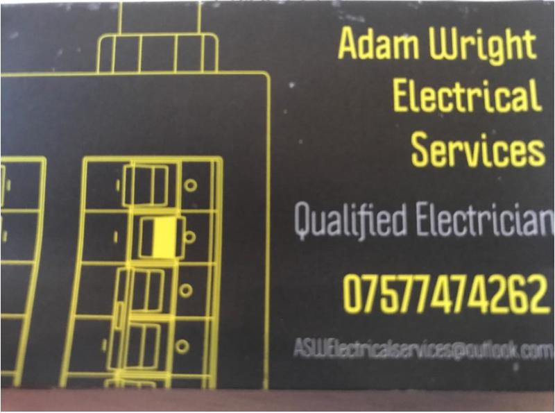 Adam Wright Electrical Services logo