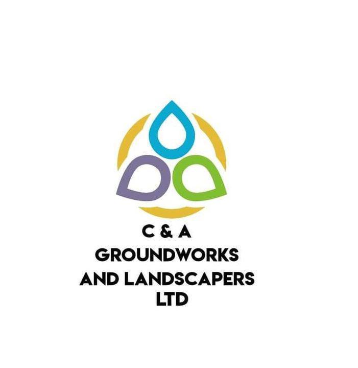C&A Groundworks and Landscapers Ltd logo