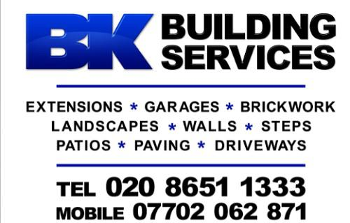 BK Building Services logo