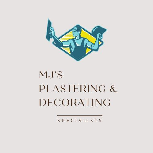 MJ's Decorating and Plastering logo