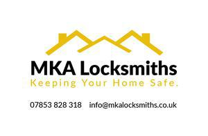 MKA Locksmiths logo