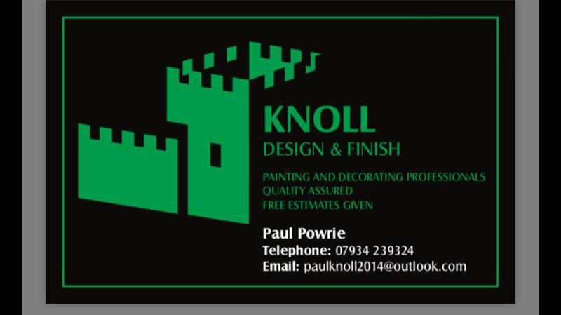 Knoll Design and Finish logo