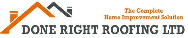 Done Right Roofing Ltd logo