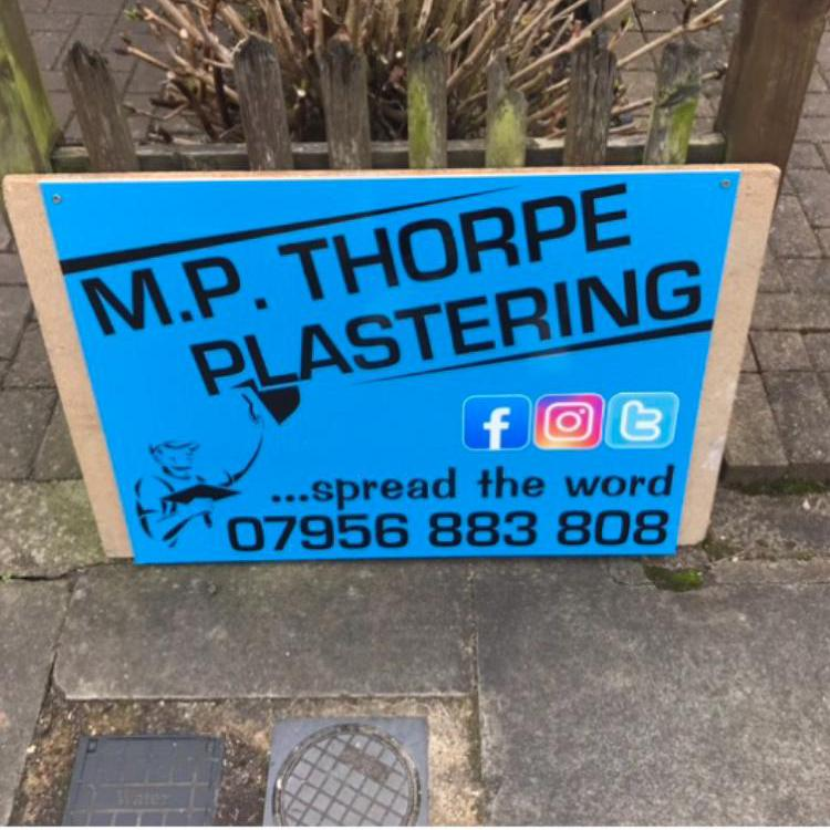 MP Thorpe Plastering logo