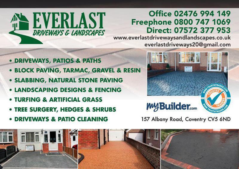 Everlast Driveways & Landscapes logo