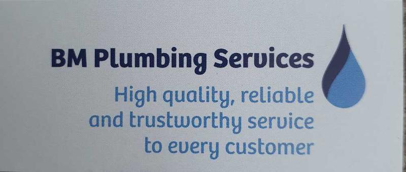BM Plumbing Services logo