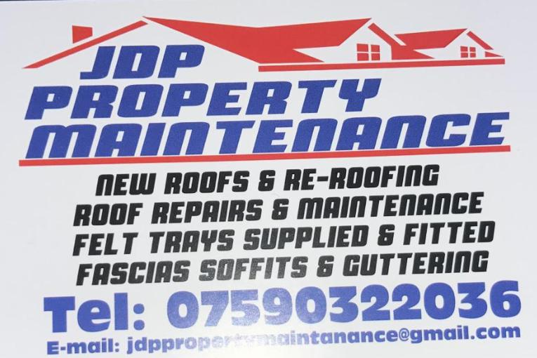JDP Property Maintenance logo