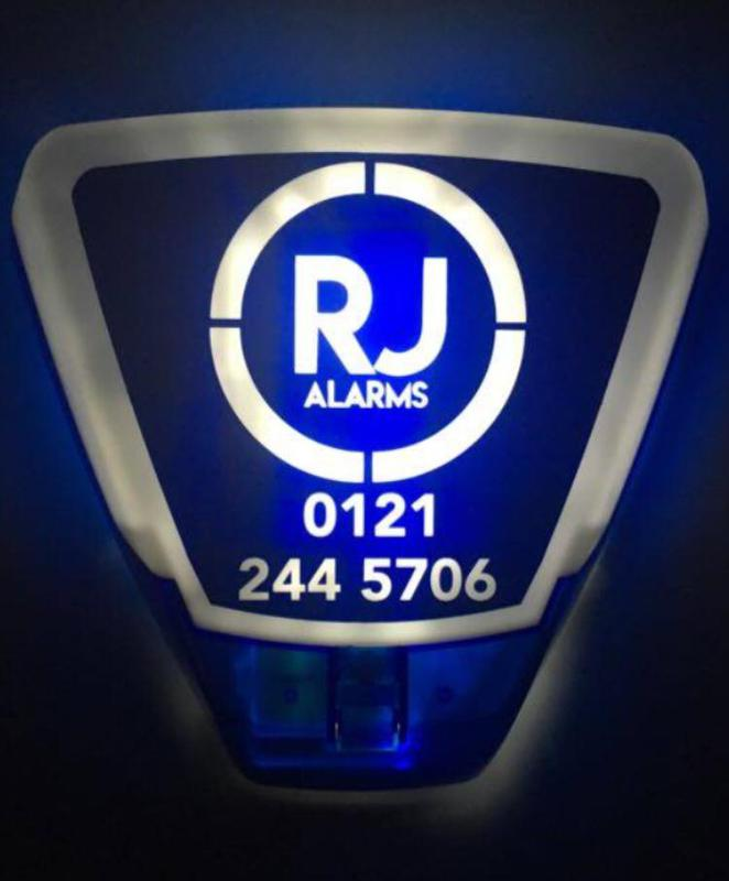 RJ Burglar Alarms Ltd logo