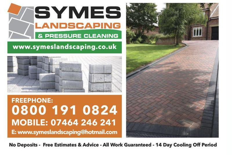 Symes Landscaping and Pressure Cleaning logo