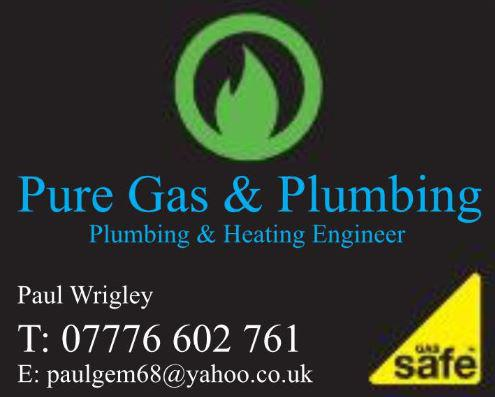 Pure Gas and Plumbing logo