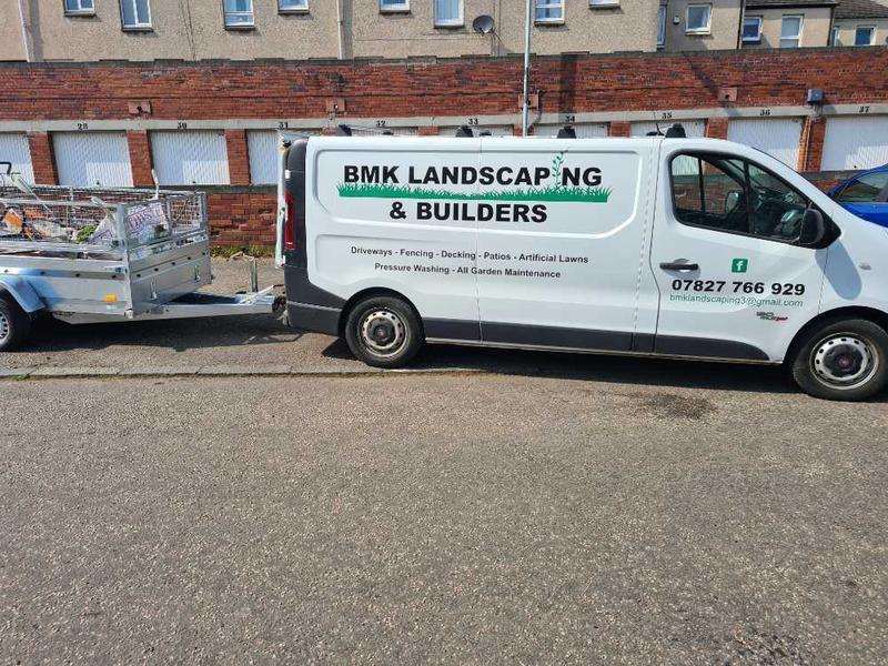 BMK Landscaping logo