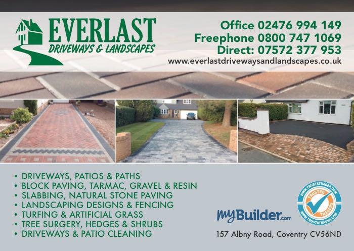 Everlast Driveways & Landscapes logo