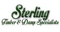 Sterling Timber and Damp logo