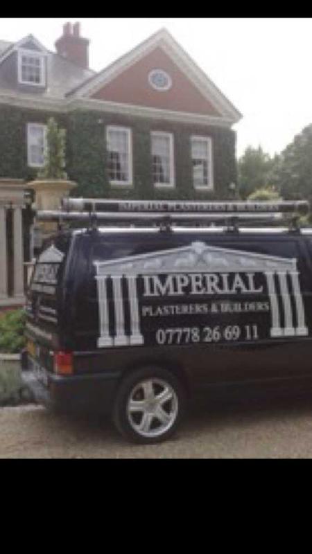 Imperial Plasterers & Builders logo