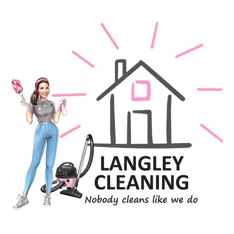 Langley Cleaning Service logo