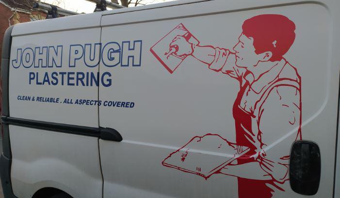 J Pugh Plastering logo
