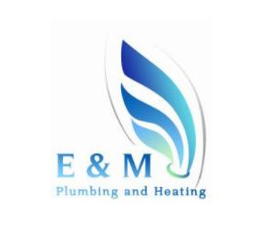 EM Plumbing and Heating logo